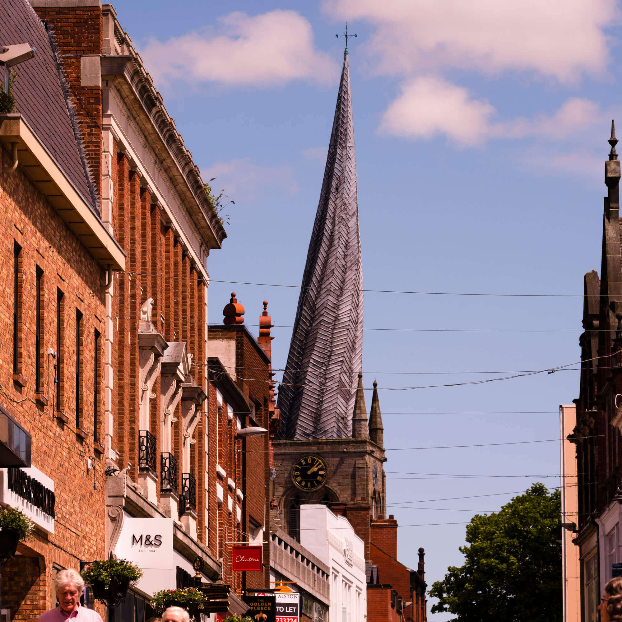 Chesterfield town scape