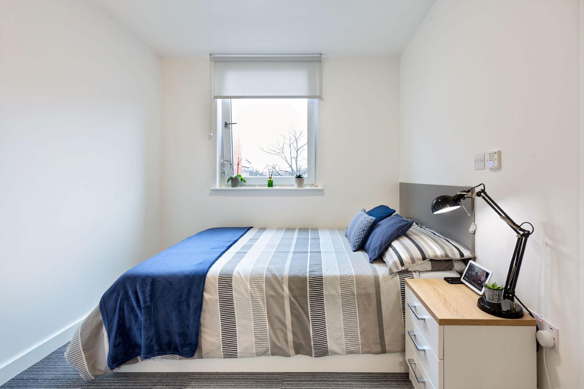 Agard Court bedroom