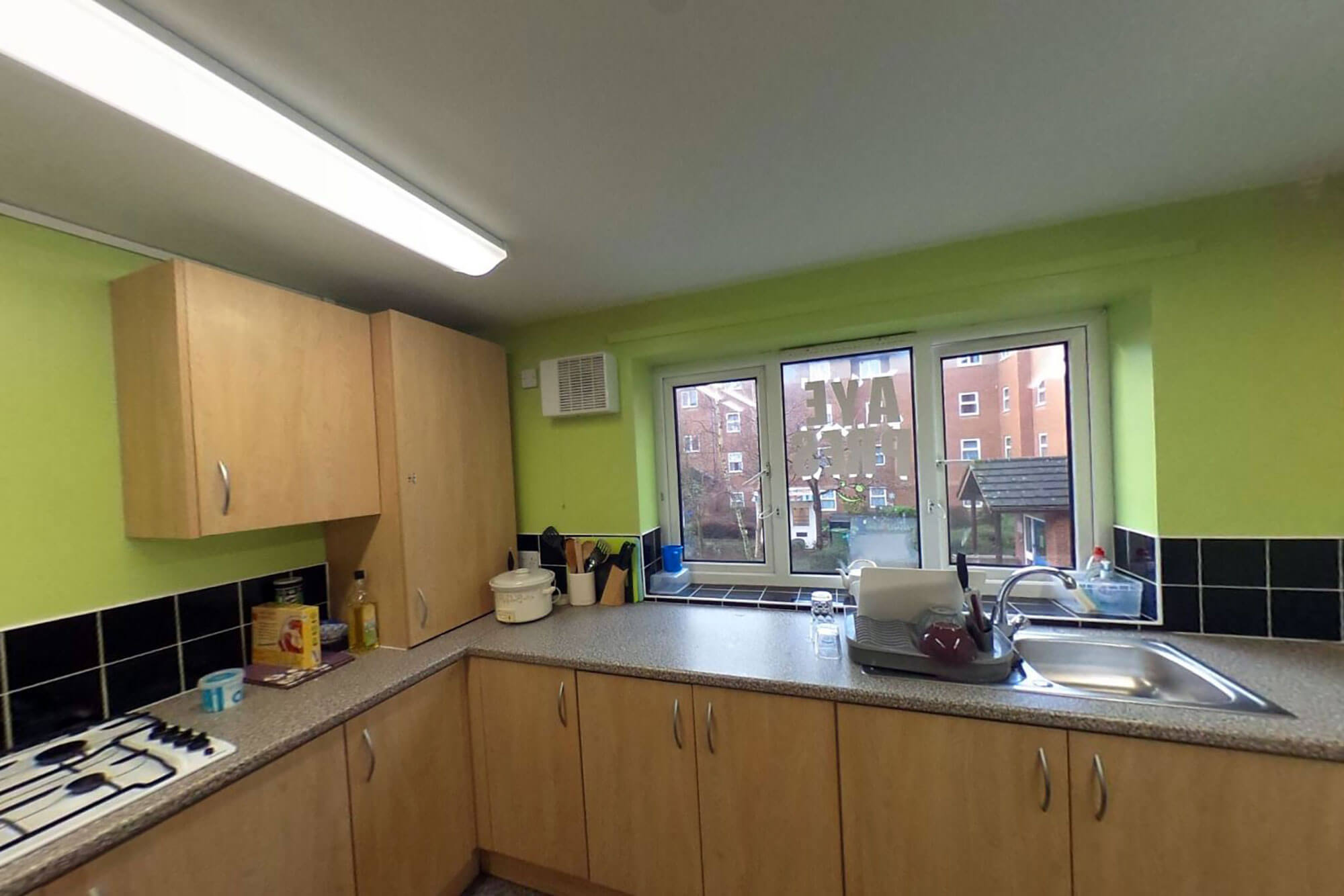Princess Alice Court kitchen