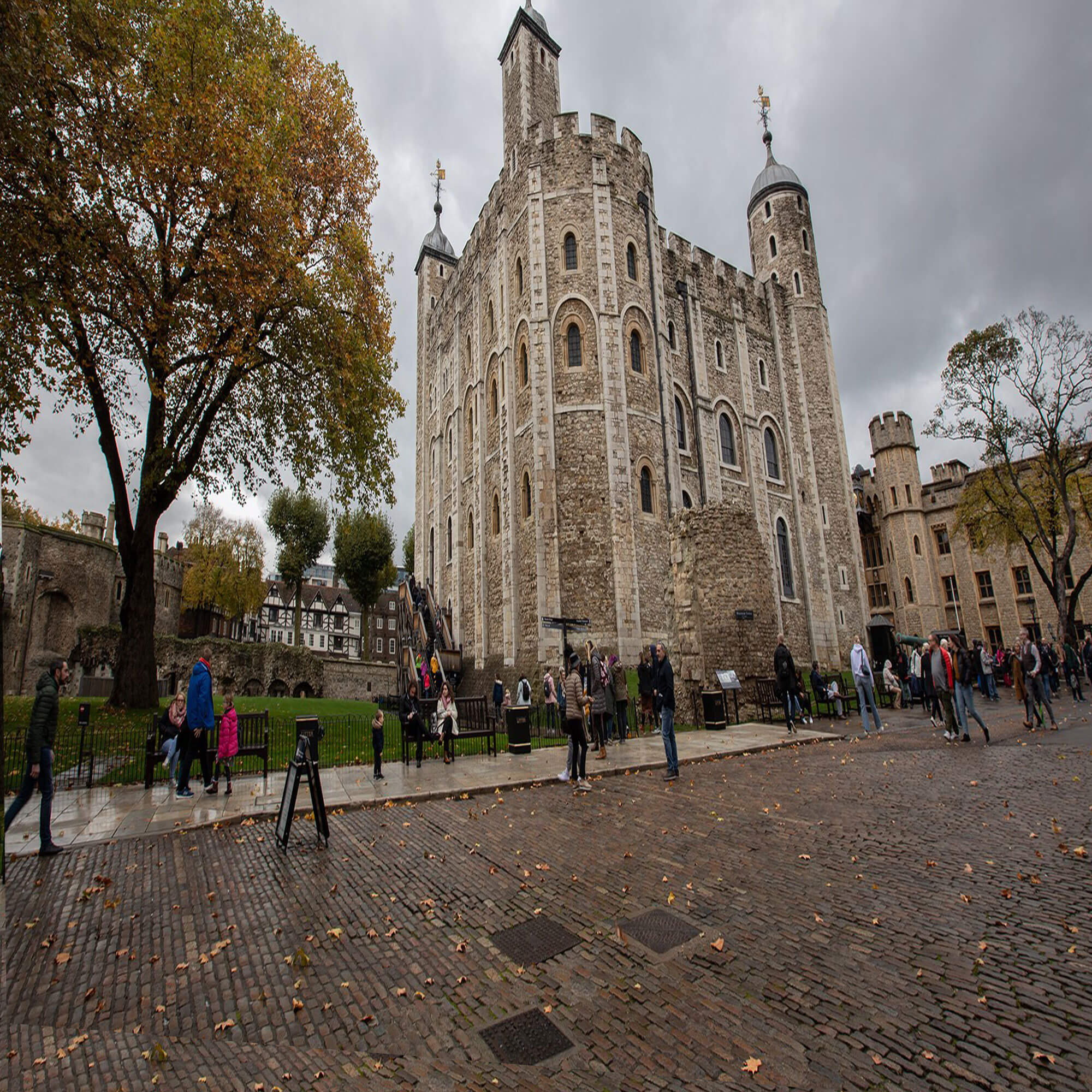 An image of the Tower of London
