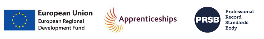 Civil Engineering Degree Apprenticeship logos