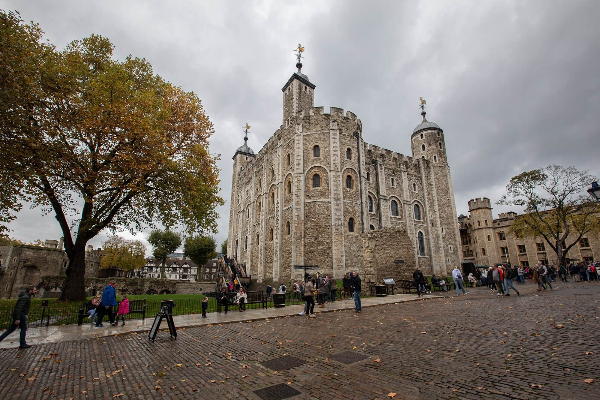 An outside image of tower of london