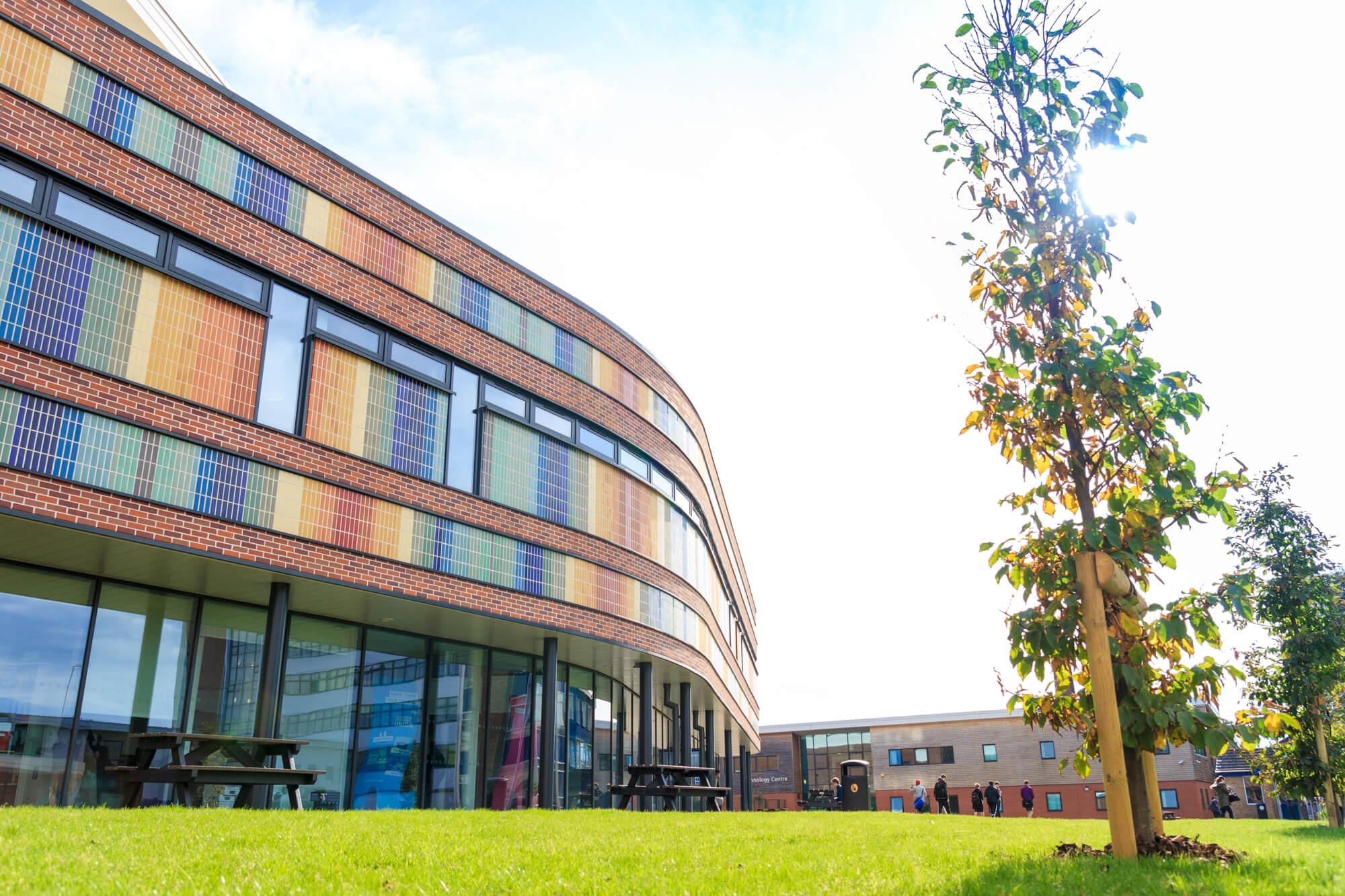 Outside view of Loughborough College