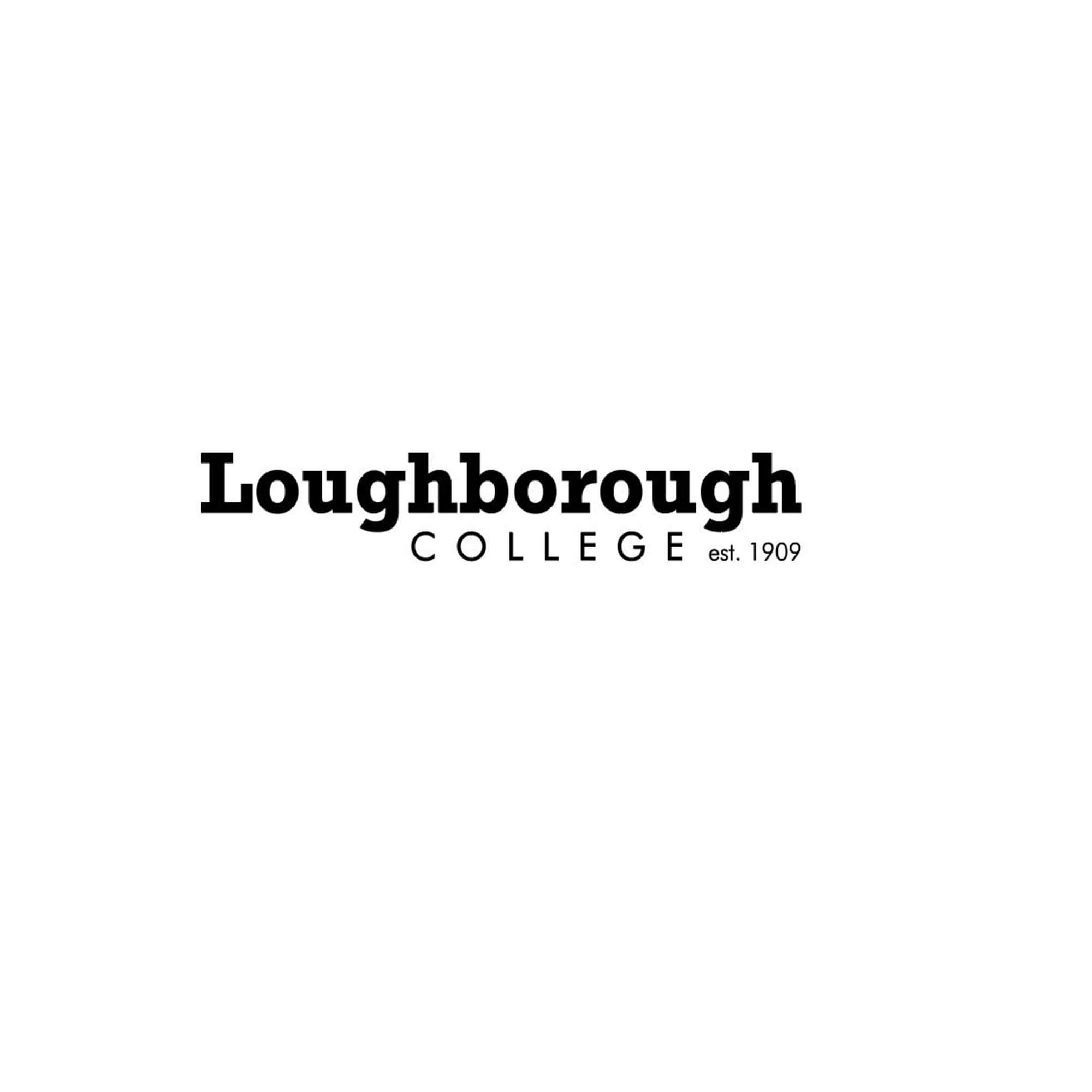 Loughborough logo - black text