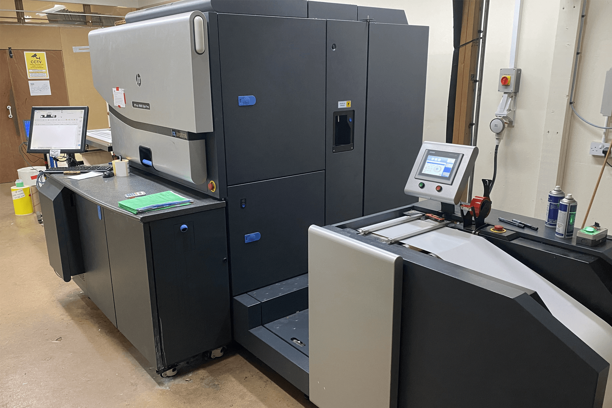 A large electrical printer