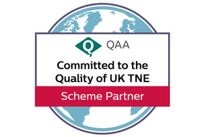 QE-TNE Partner logo