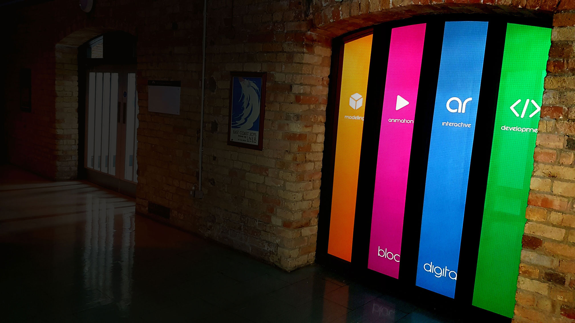 The offices of Bloc Digital