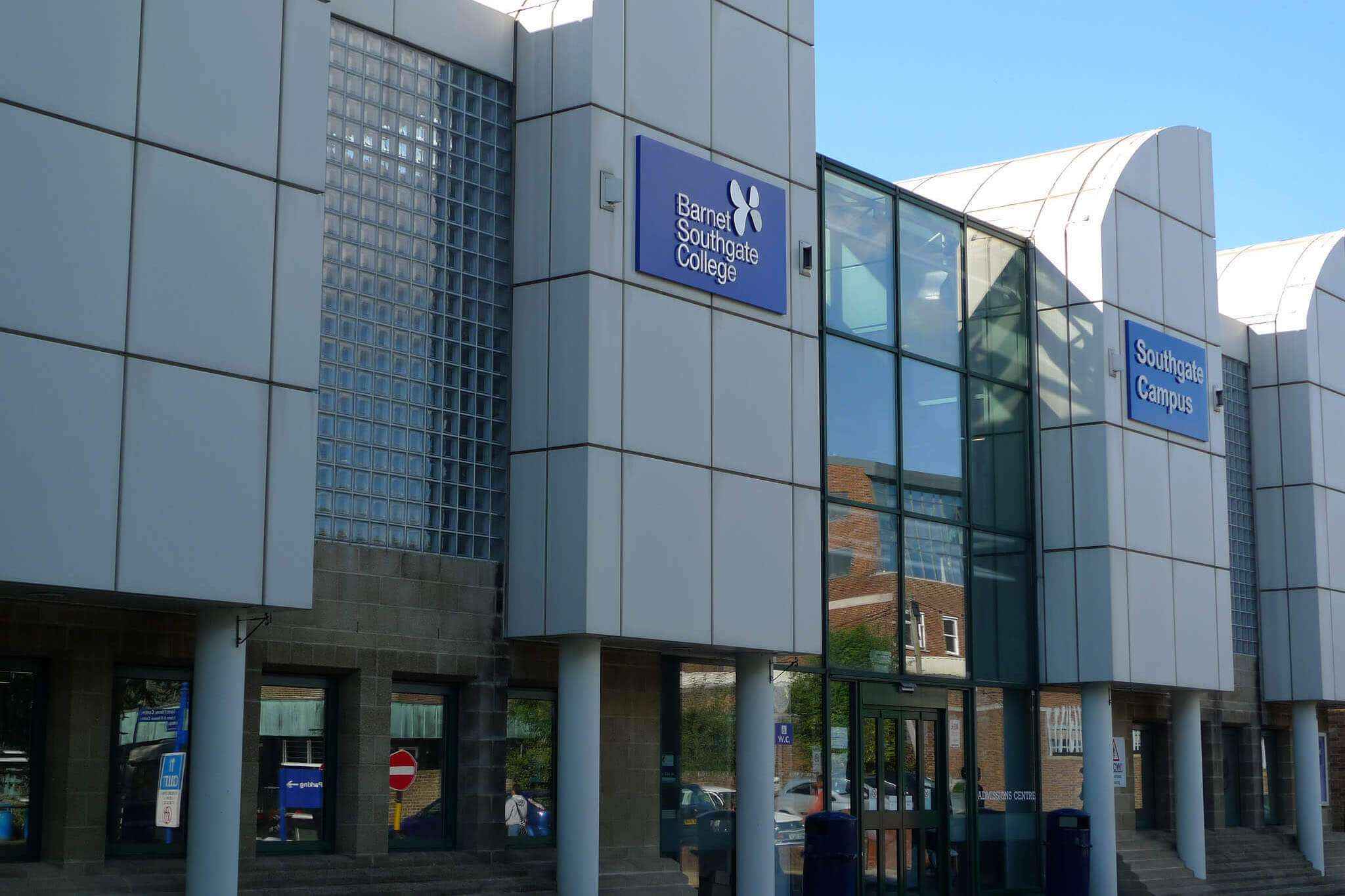 Outside view of the Southgate campus