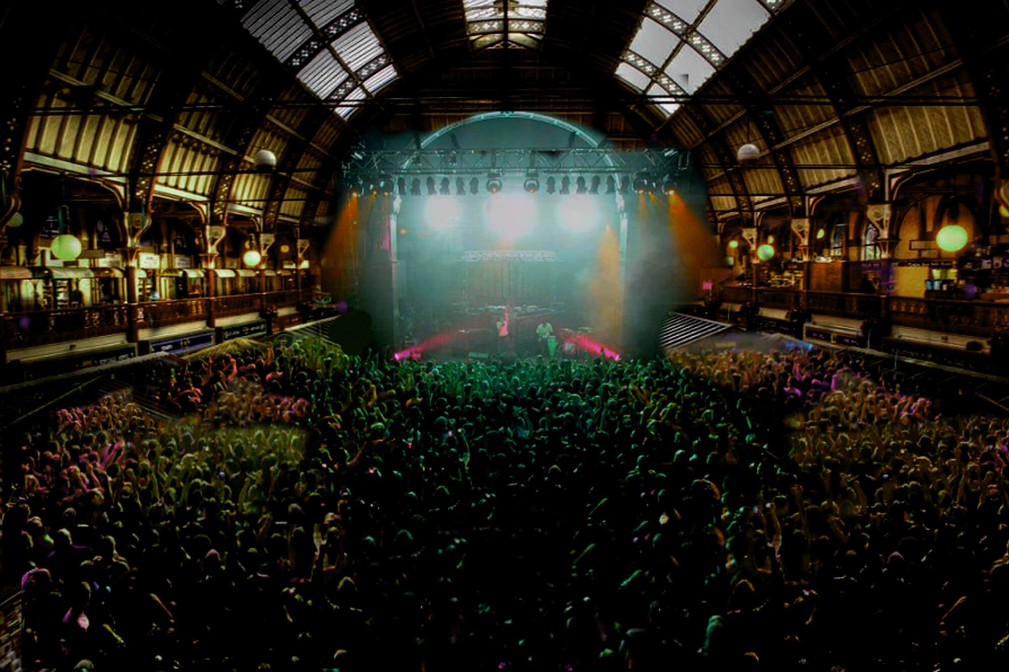 Adam Watkins's Market Hall concert venue