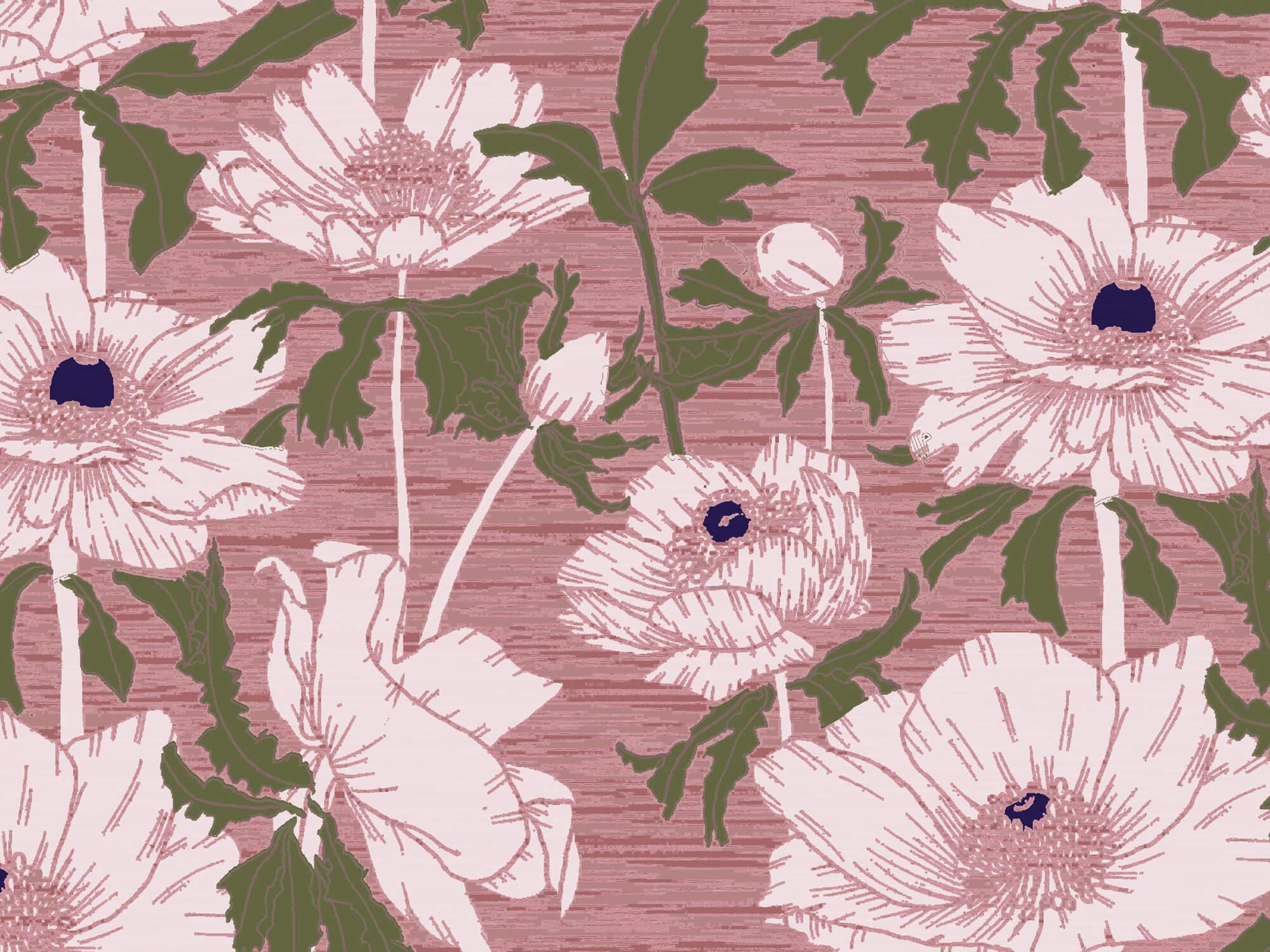 Student work: Digital textile print