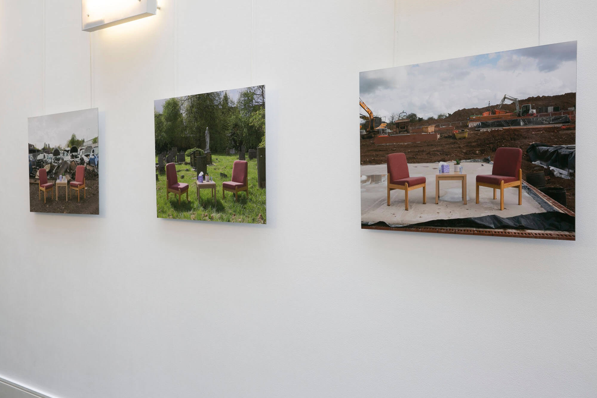 BA Photography Student Joseph Wilkinson Exhibition Work