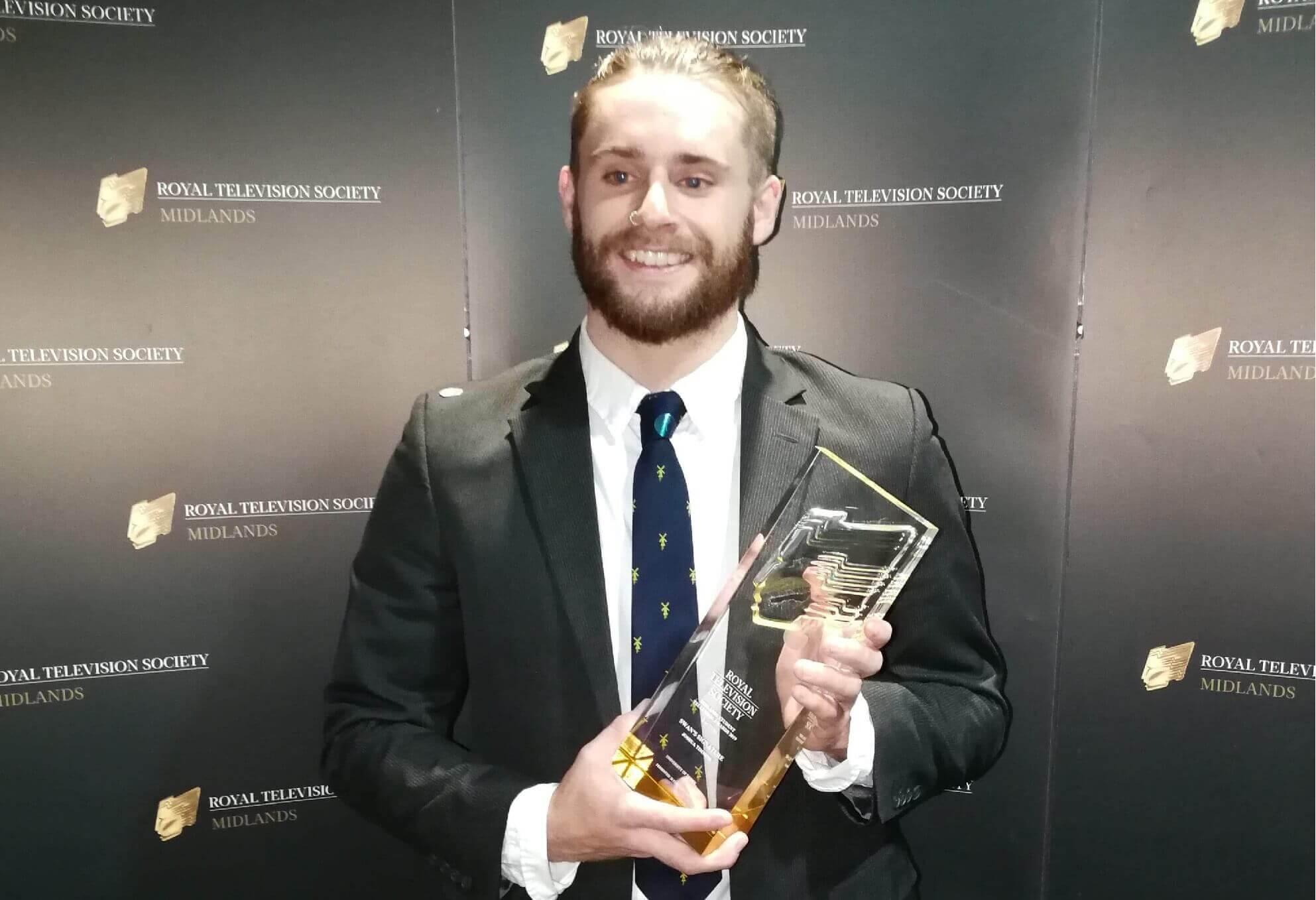 Joshua Timmins at awards