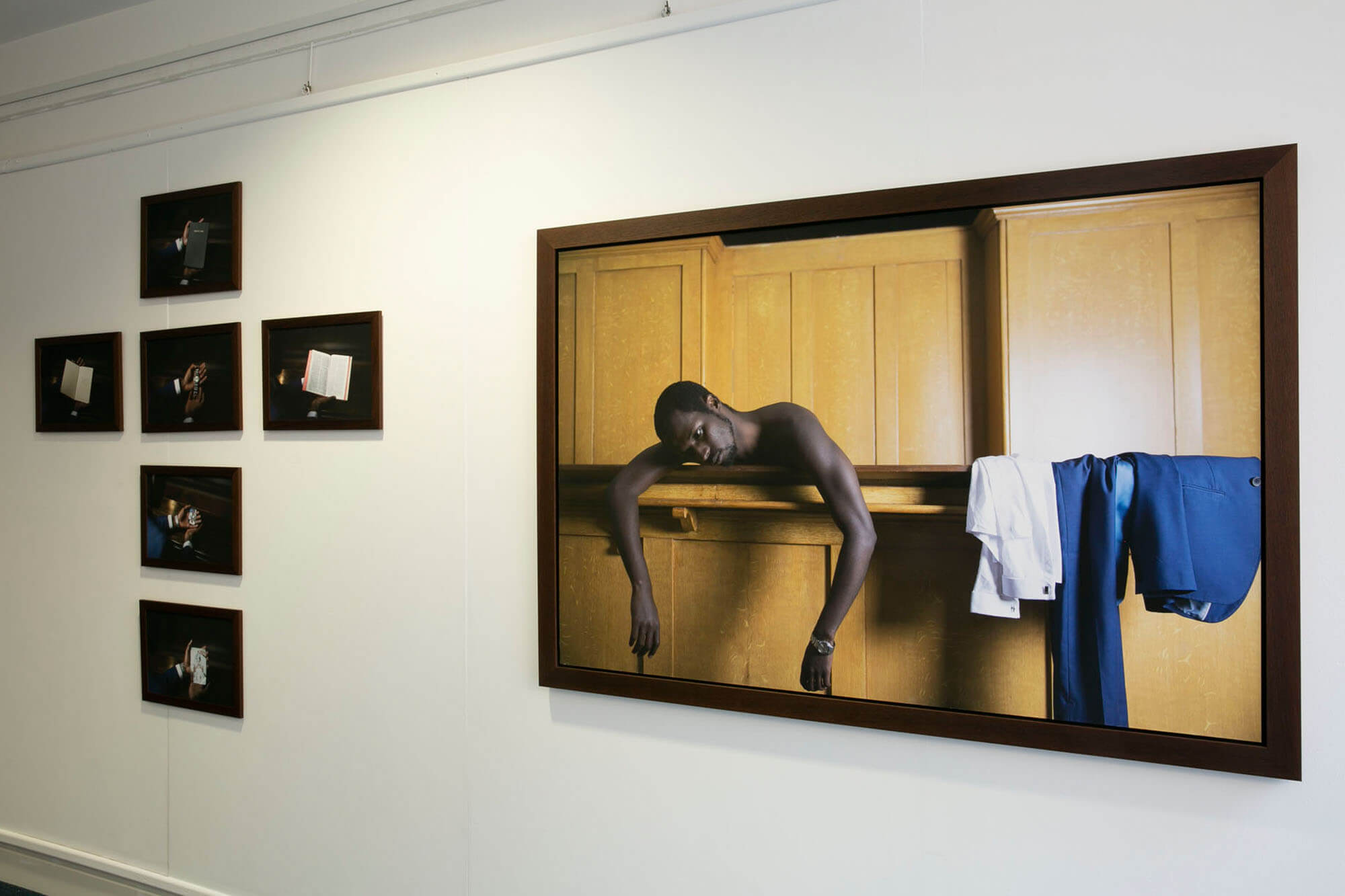 BA Photography Student Robert Collins Exhibition Work