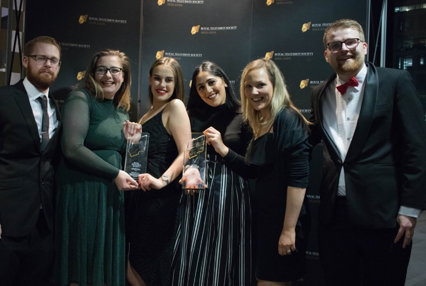 Writer's Block team at RTS awards