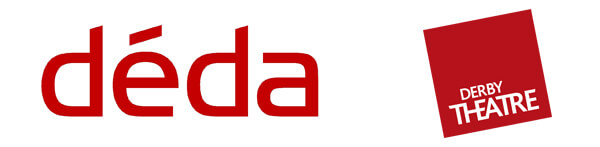 The logos for Deda and Derby Theatre