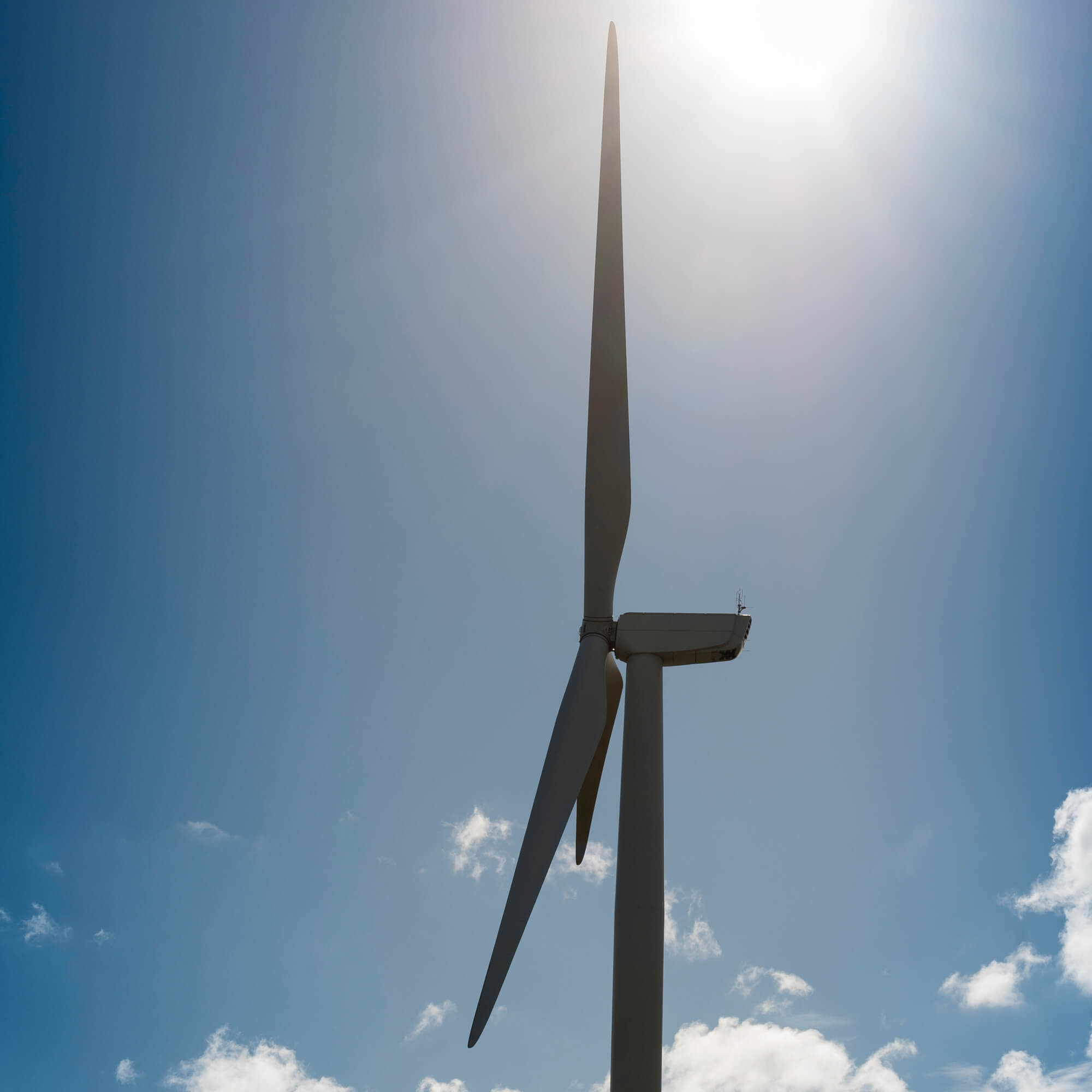Wind turbine at Kedleston Road, Derby Campus