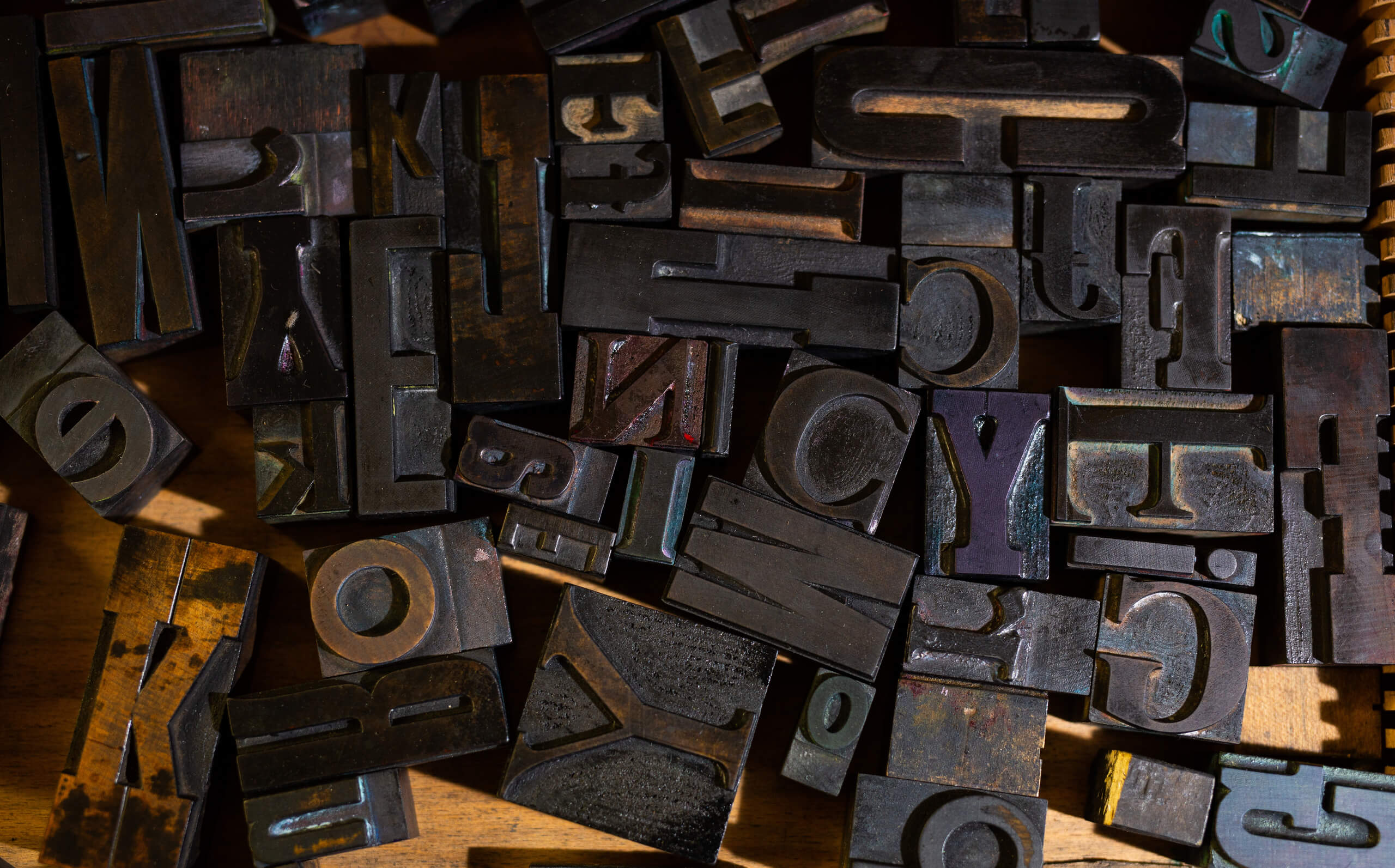 images of printing letters