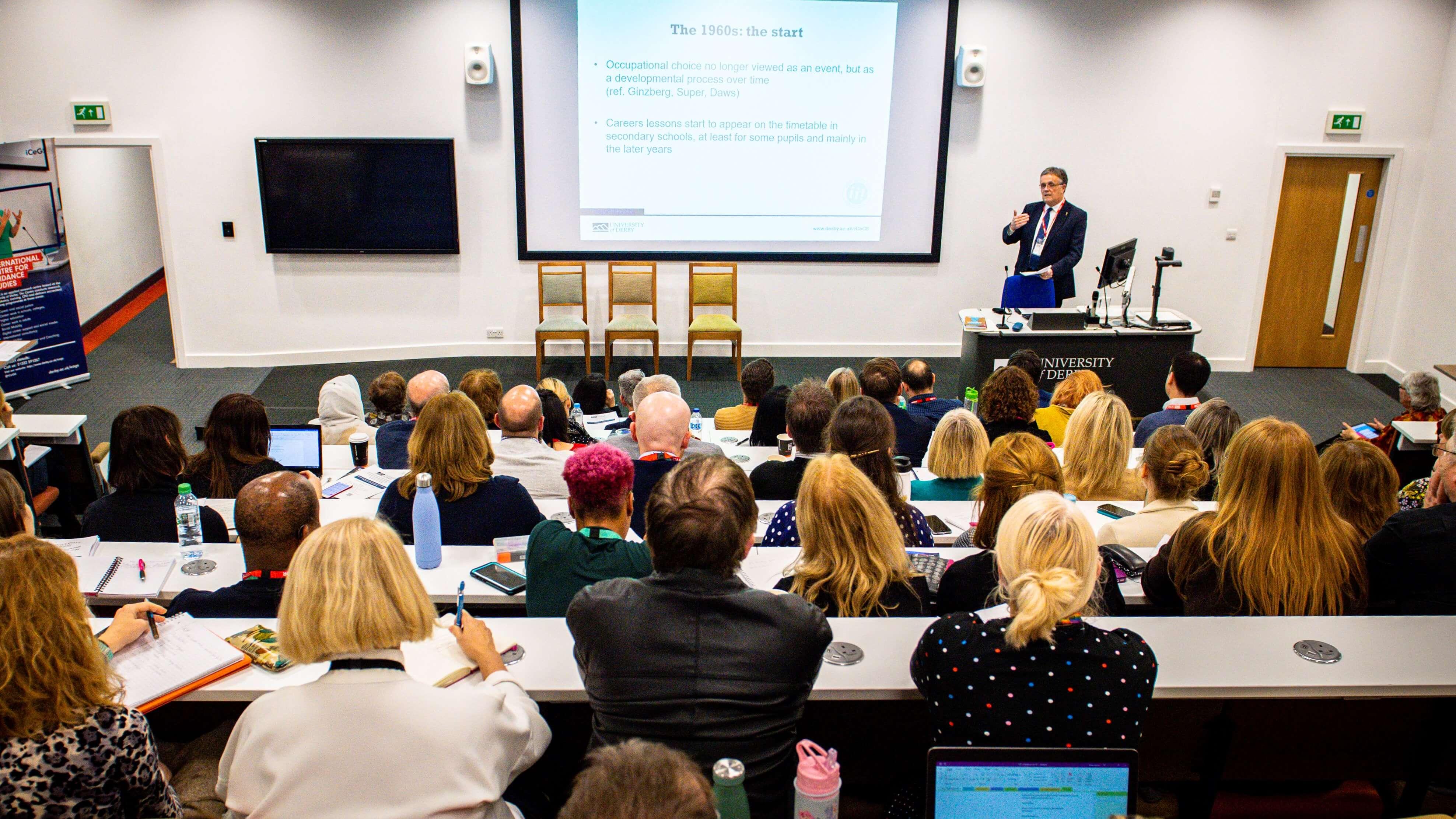 David Andrews Presenting at Annual Lecture 2019