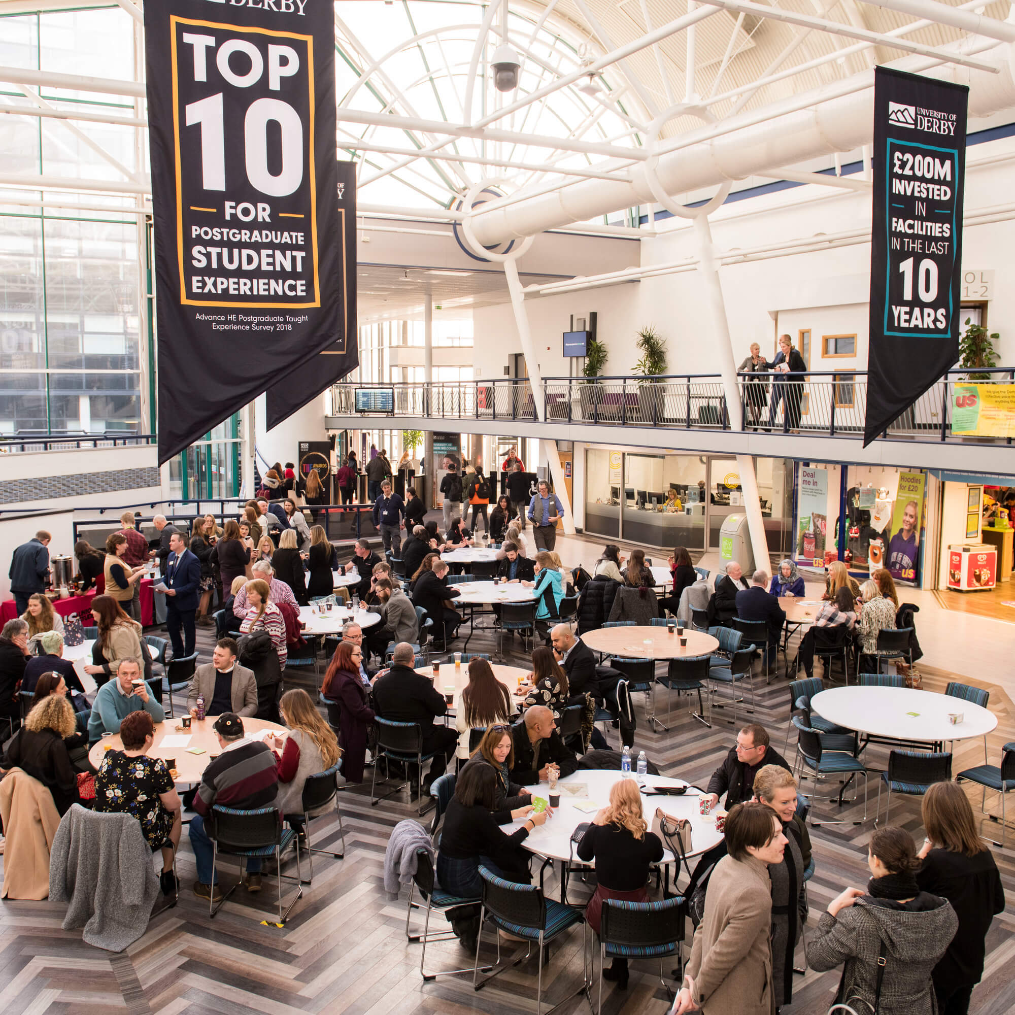 People Networking event at universoty of Derby