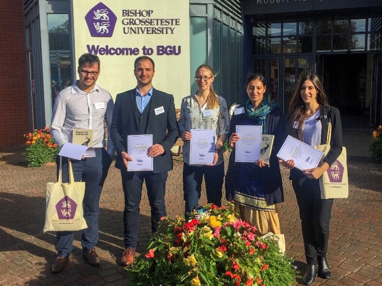 Derby postgraduate research students at EMDoc 2018