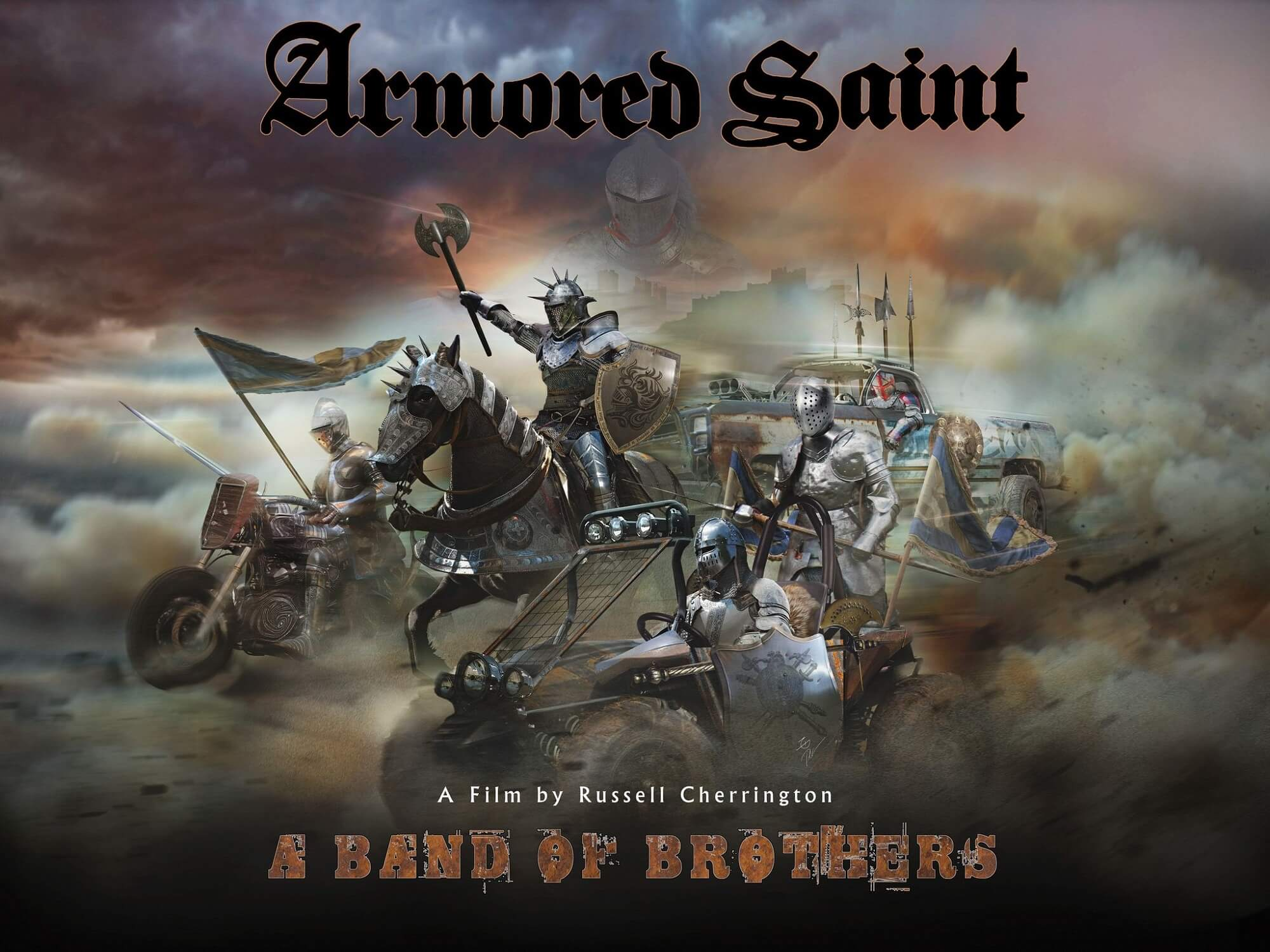 Illustration for the movie Armored Saint: A Band of Brothers