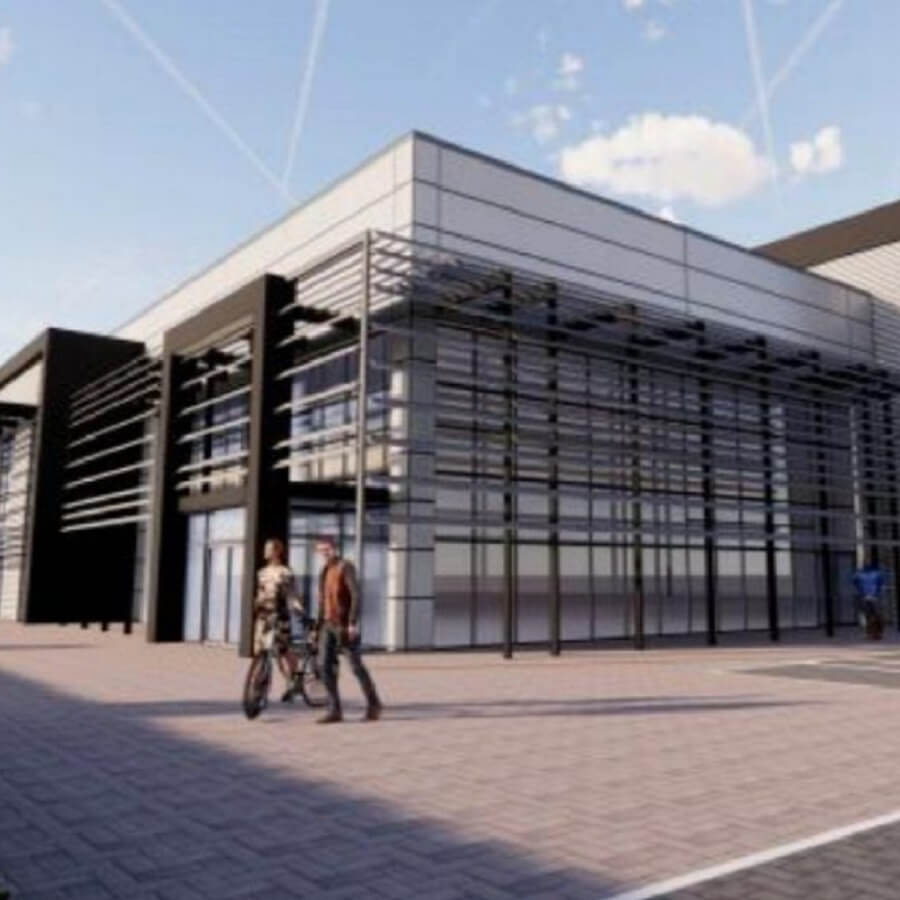 Artist's impression of Nuclear Advanced Manufacturing Research Centre