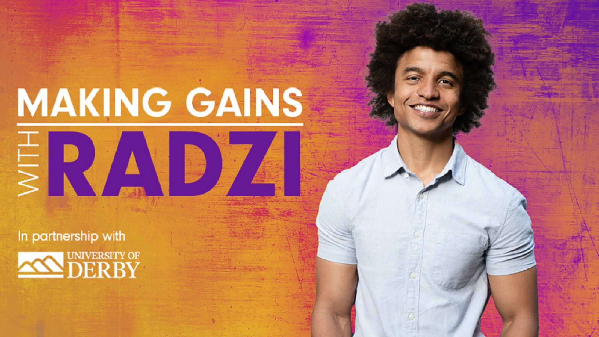 Episode one of Making Gains, hosted by Radzi Chinyanganya, featuring an interview with WWE star Mark Henry