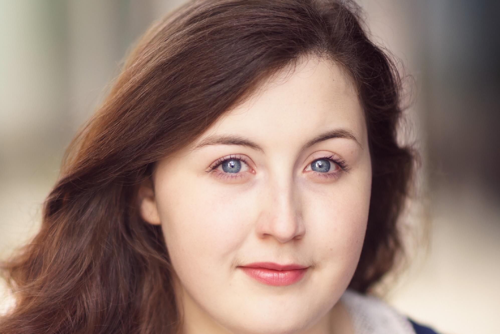 Portrait of actress Emily Vinnicombe