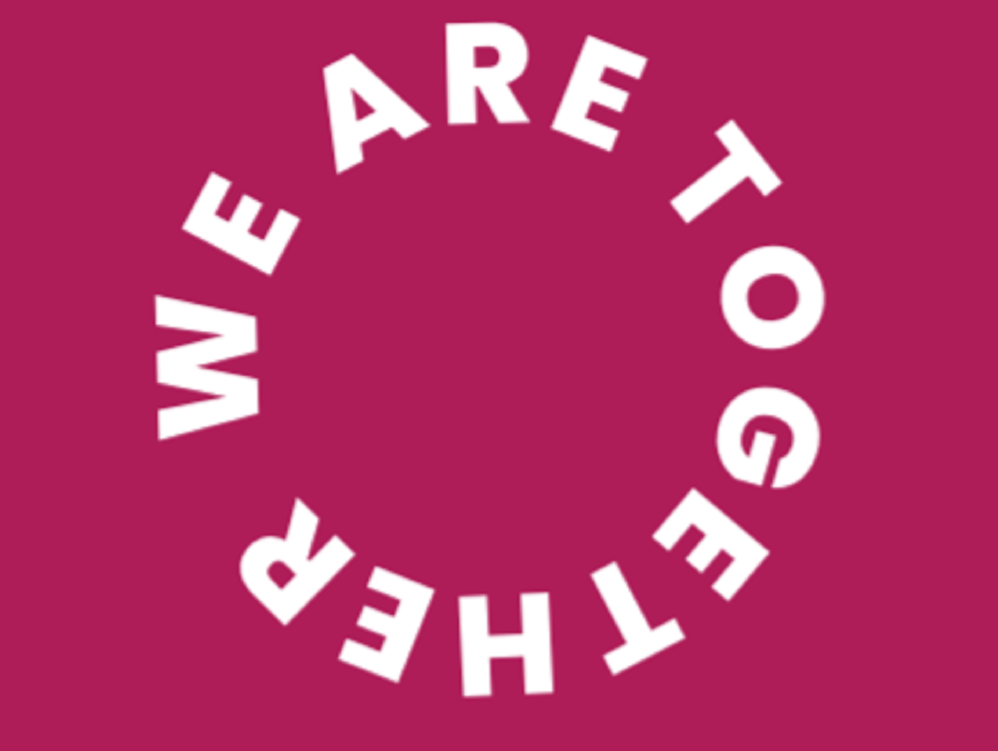 Logo reads We Are Together