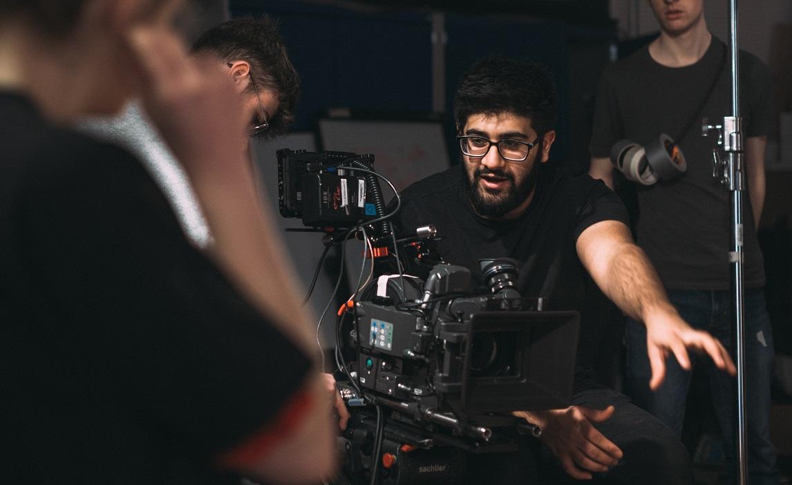 Omar filming