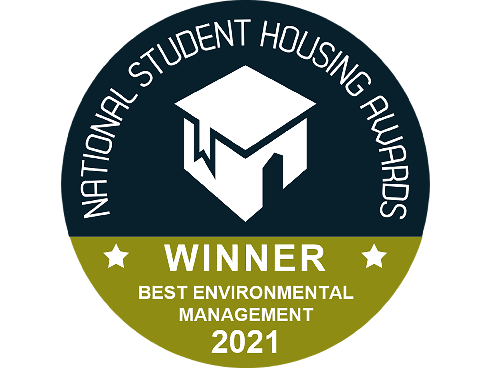 Logo of the National Student Housing Awards - Best Environmental Management category