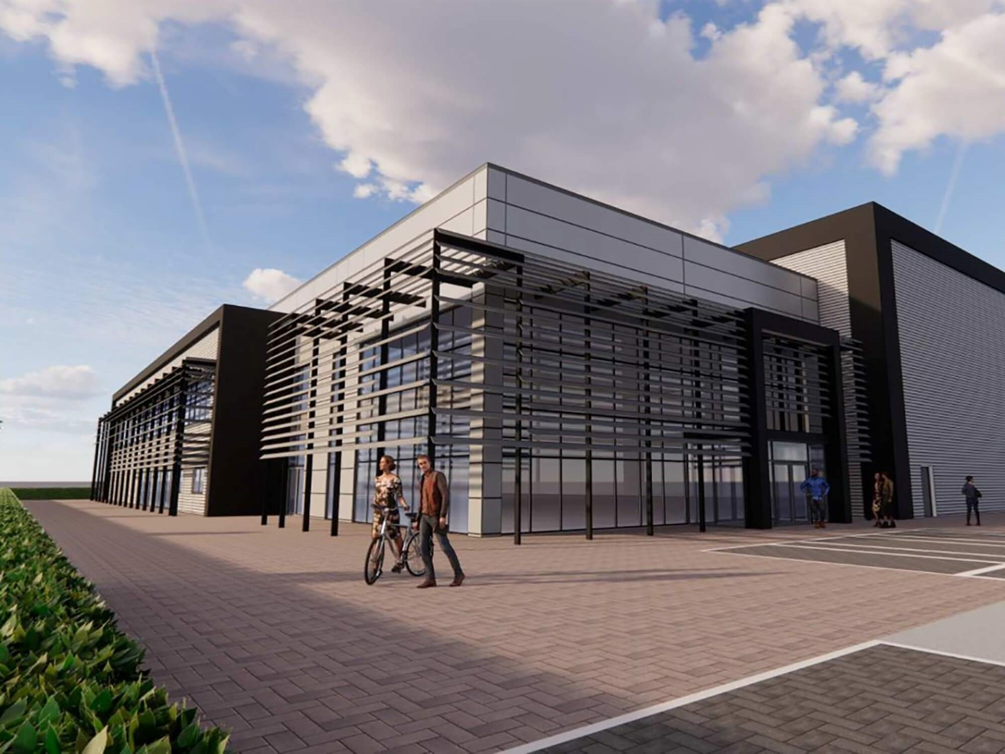 Development of Nuclear Advanced Manufacturing Research Centre (Nuclear AMRC) at Infinity Park in Derby.