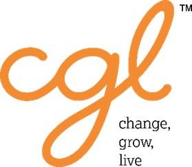 Change, Grow, Live logo