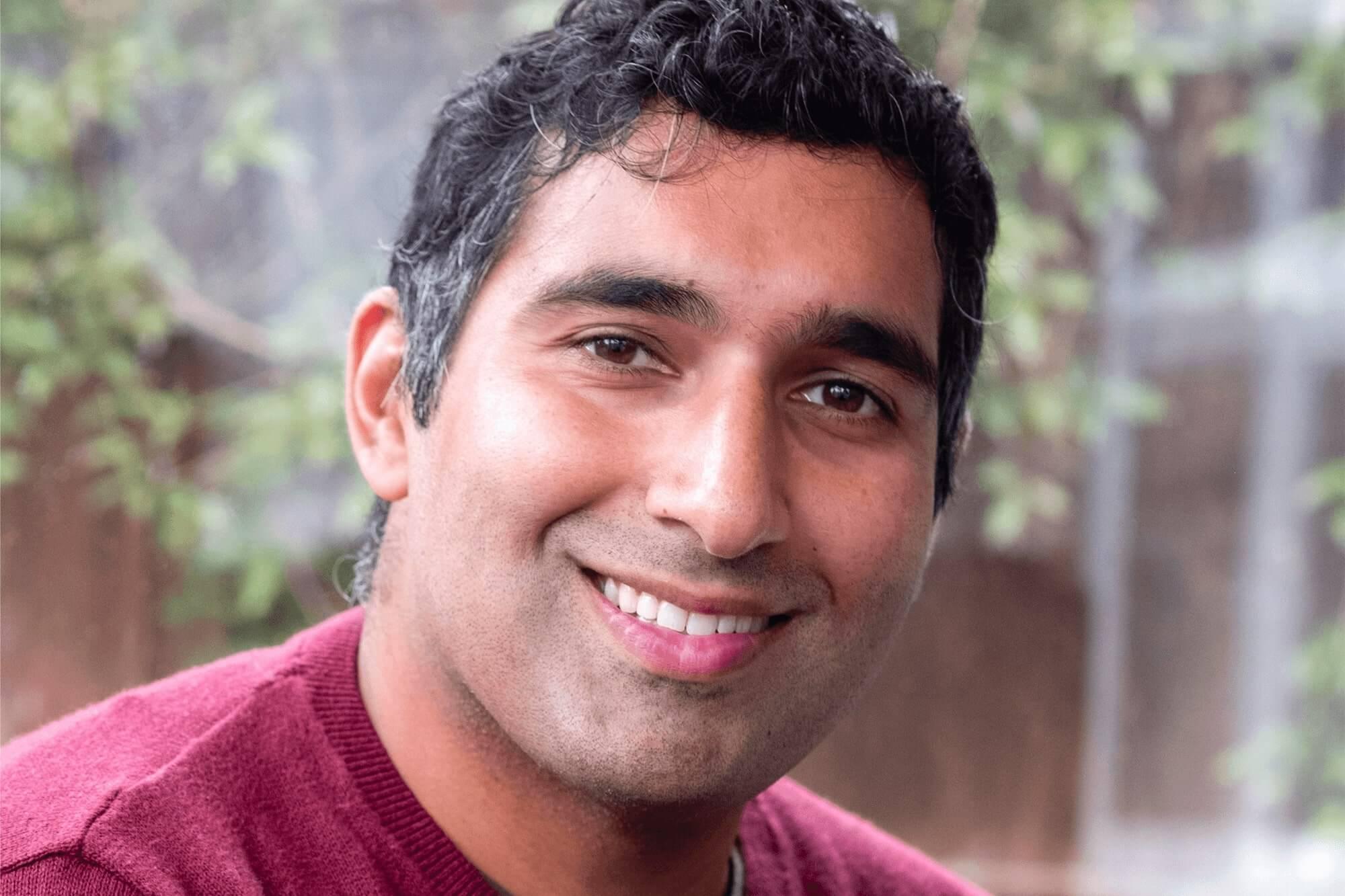 A portrait picture of Baasit Siddiqui