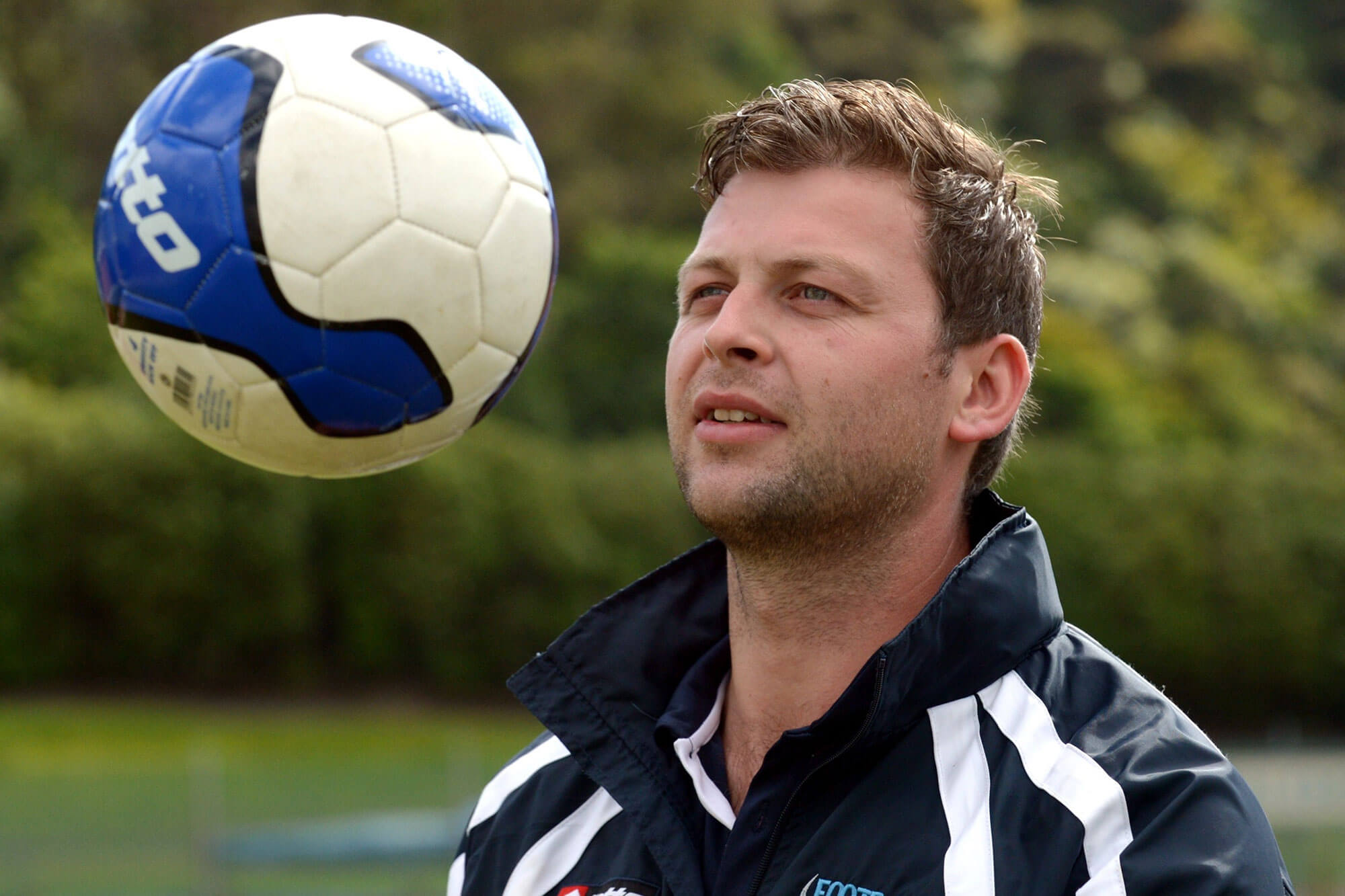 Headshot of Chris Wright, Chief Executive Officer of Football South, New Zealand