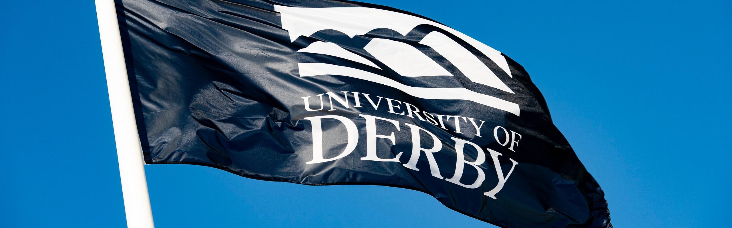 University of Derby flag