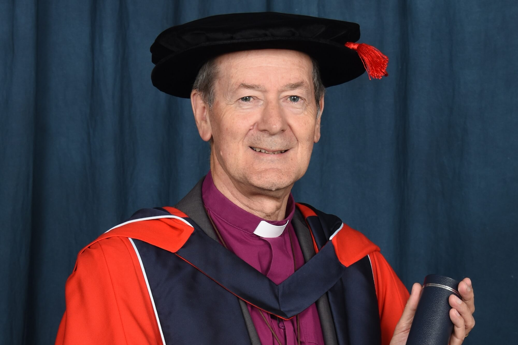 Dr Alastair Redfern receiving his honorary degree (HonLLD)