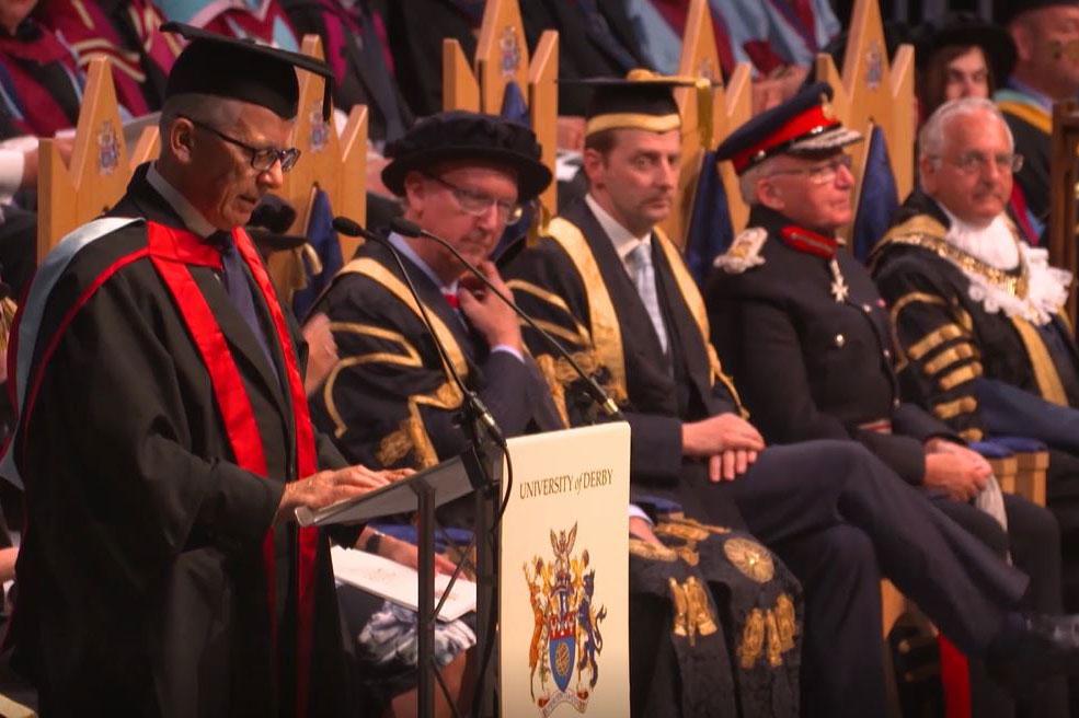 Derby Graduation - July 2019 - Honorand Brian Jones