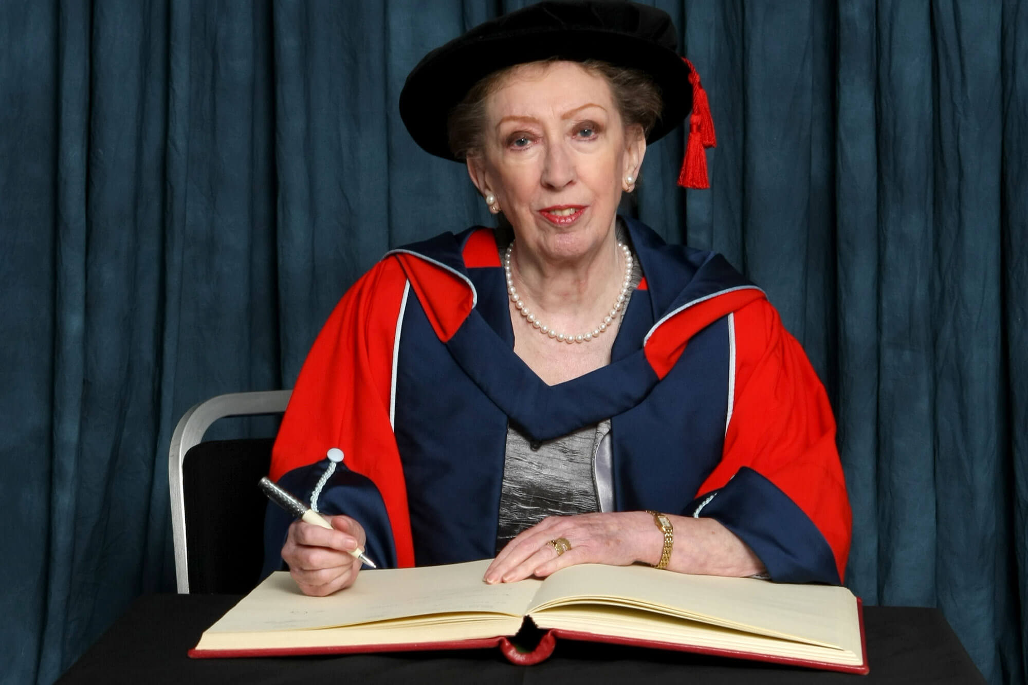 University of Derby Honorand Dame Margaret Beckett at Awards Ceremony