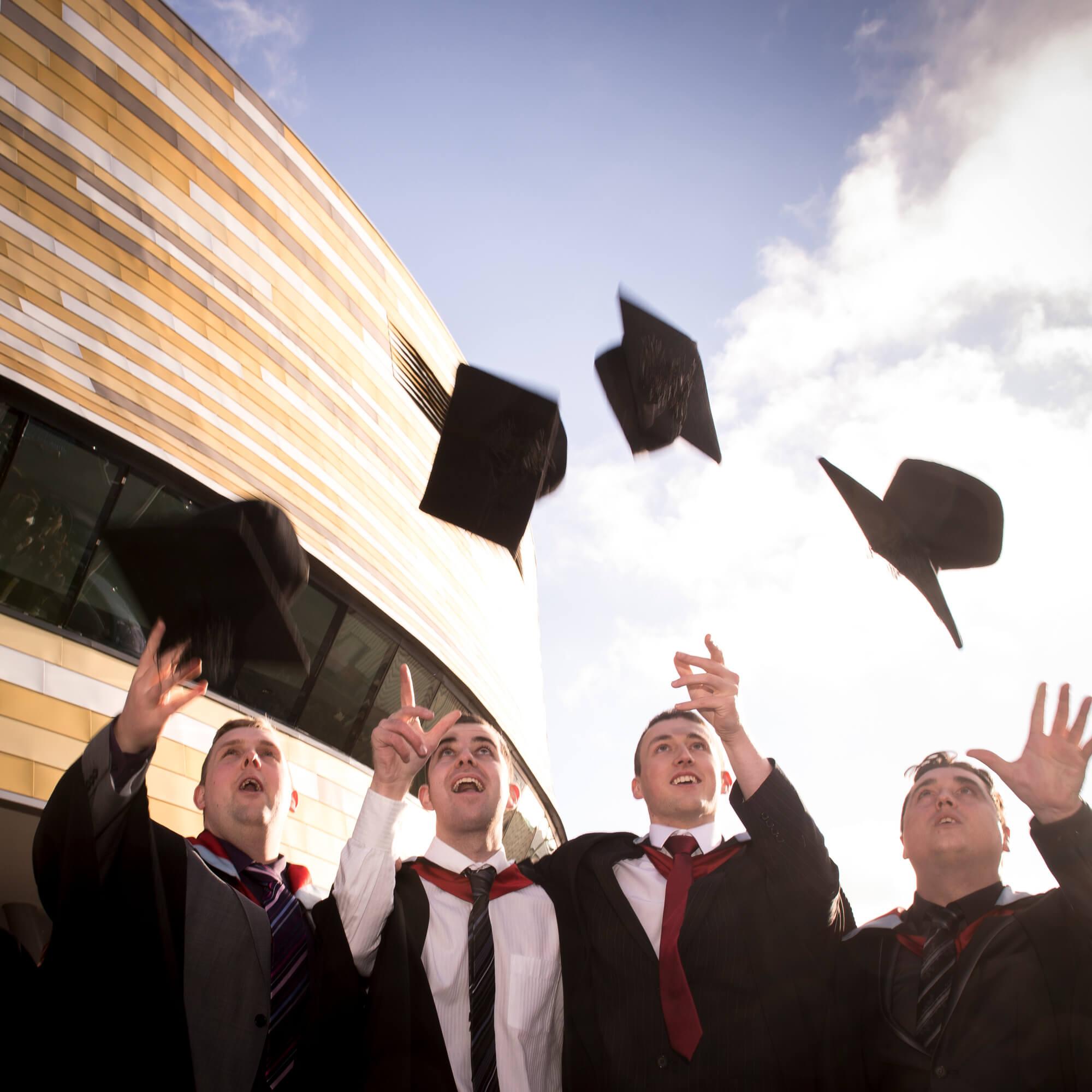 Graduation at Derby Arena