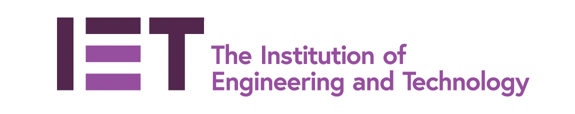The logo for the Institution of Engineering and Technology.