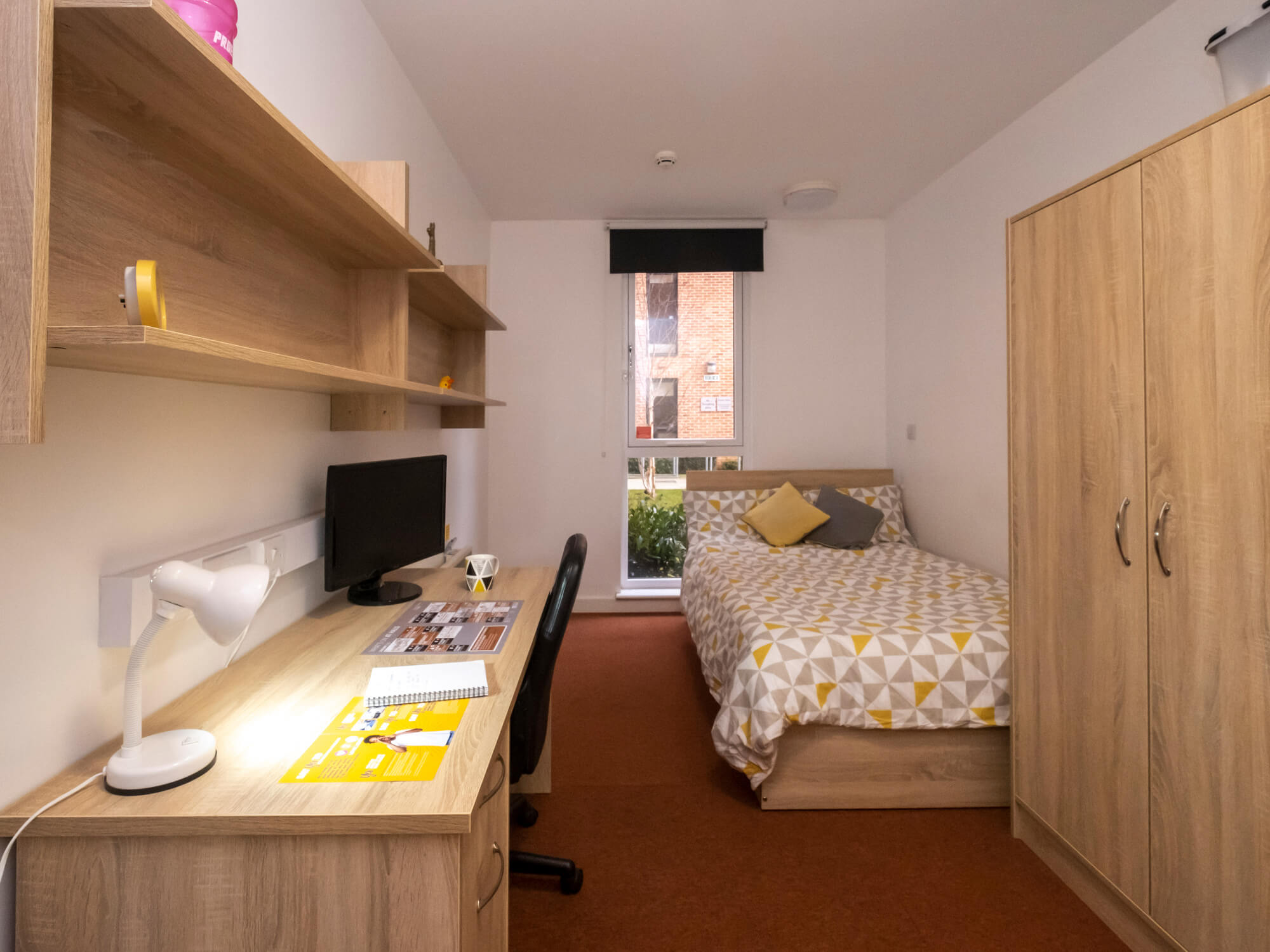 A view of a room at Cathedral Court Halls