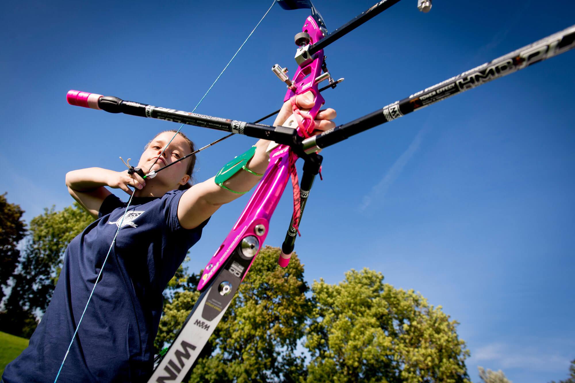 Philippa Taylor - Archery Scholar