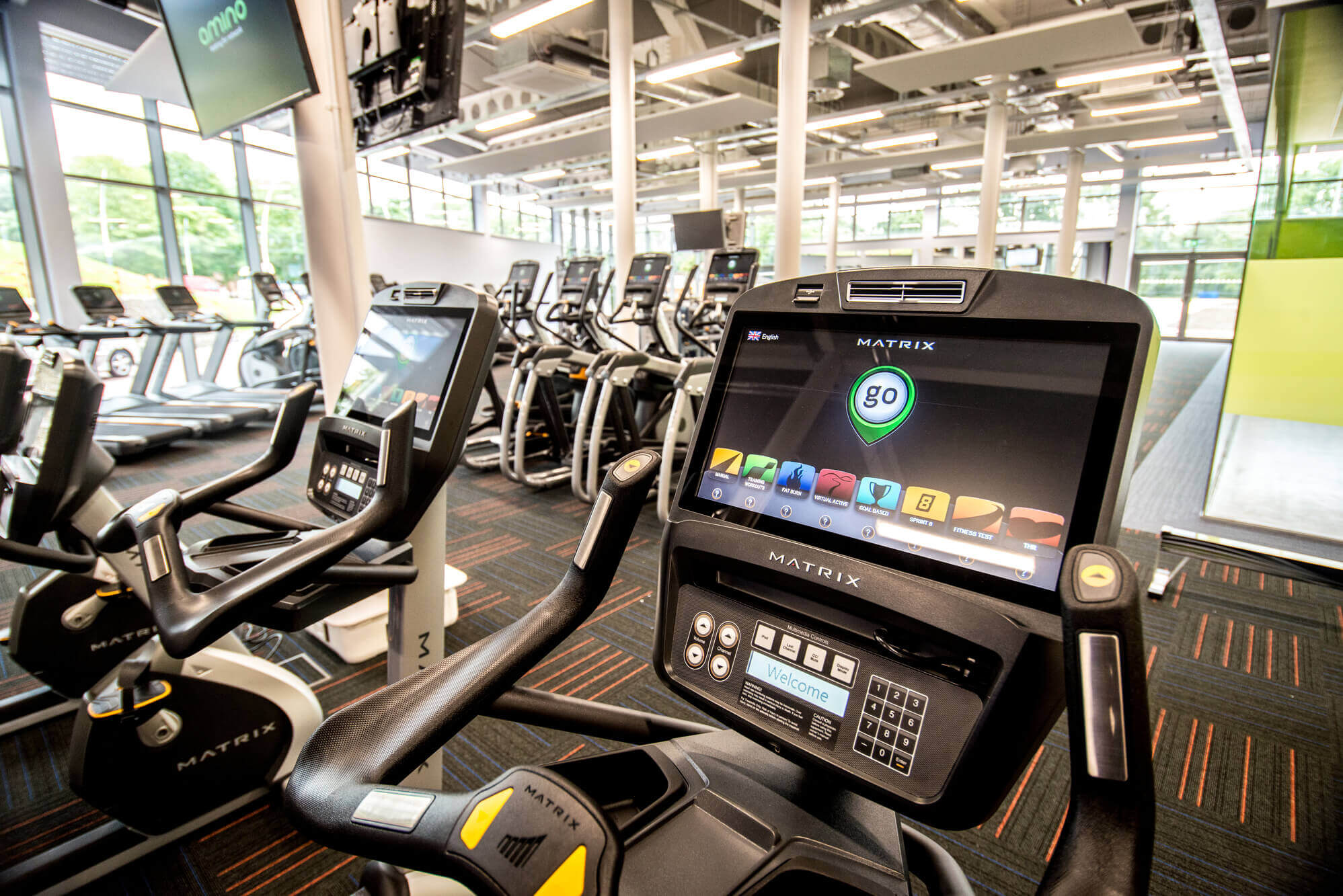 Fitness machines in the Fitness Suite