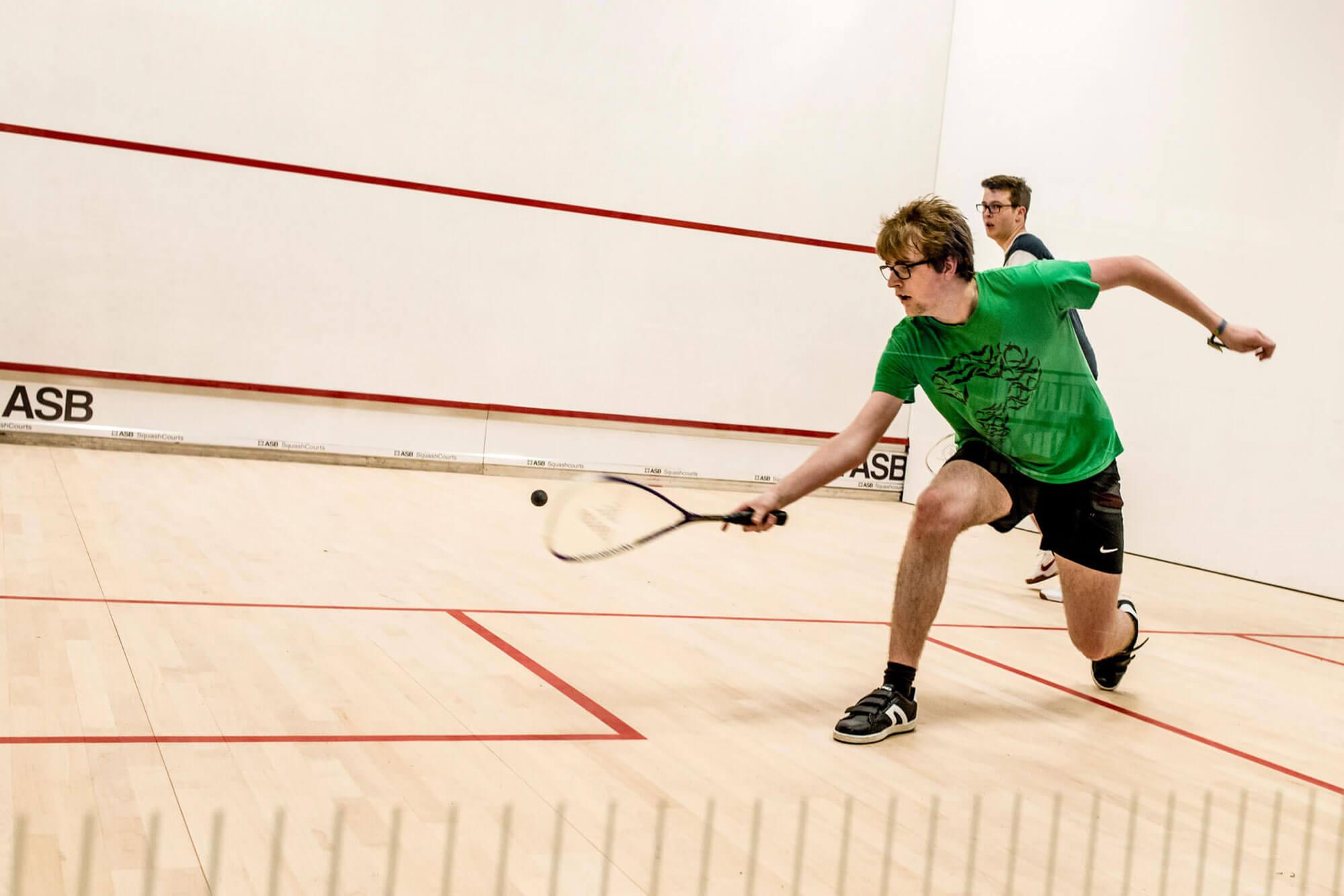 Social sport squash