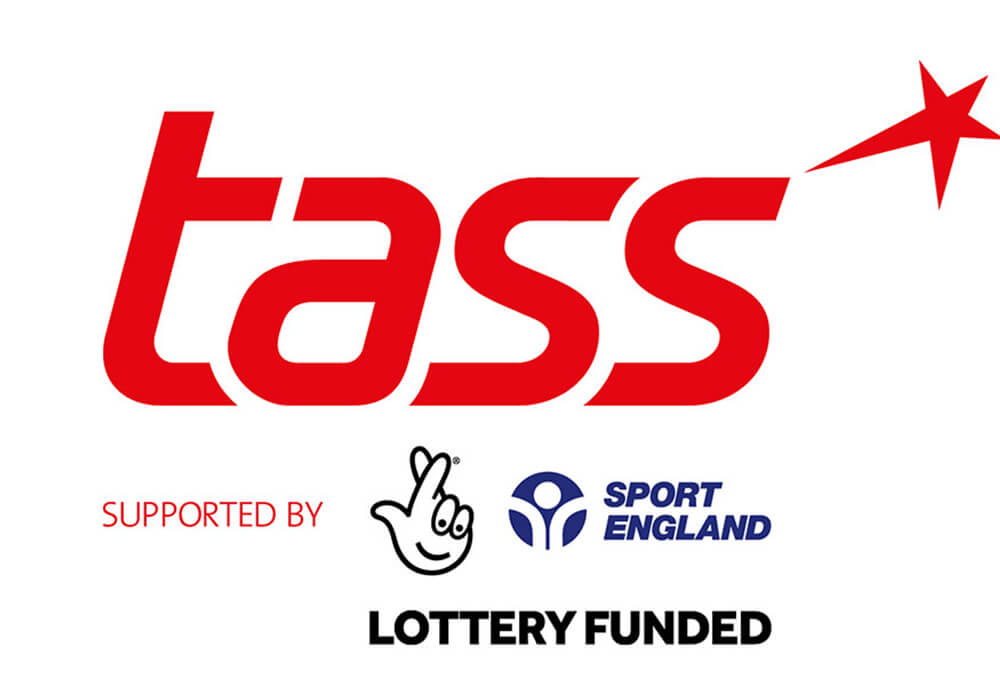Tass supported by sport England, lottery funded