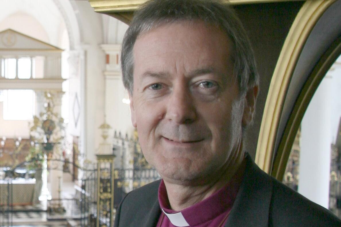Dr Alastair Redfern Bishop of Derby