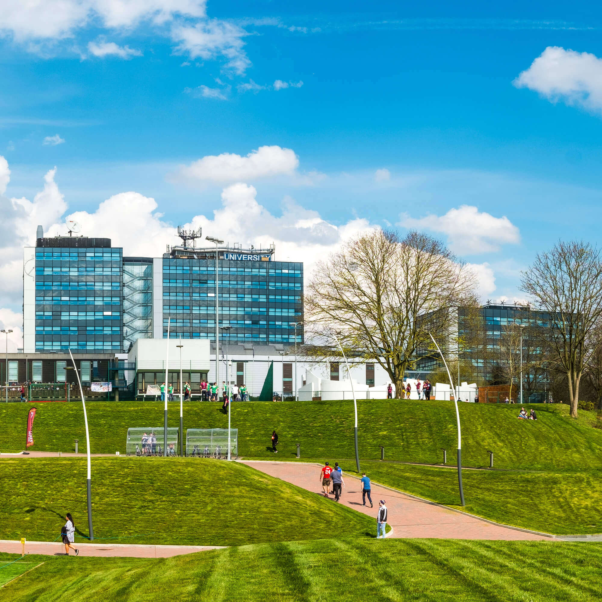 University of Derby's main site at Kedleston Road