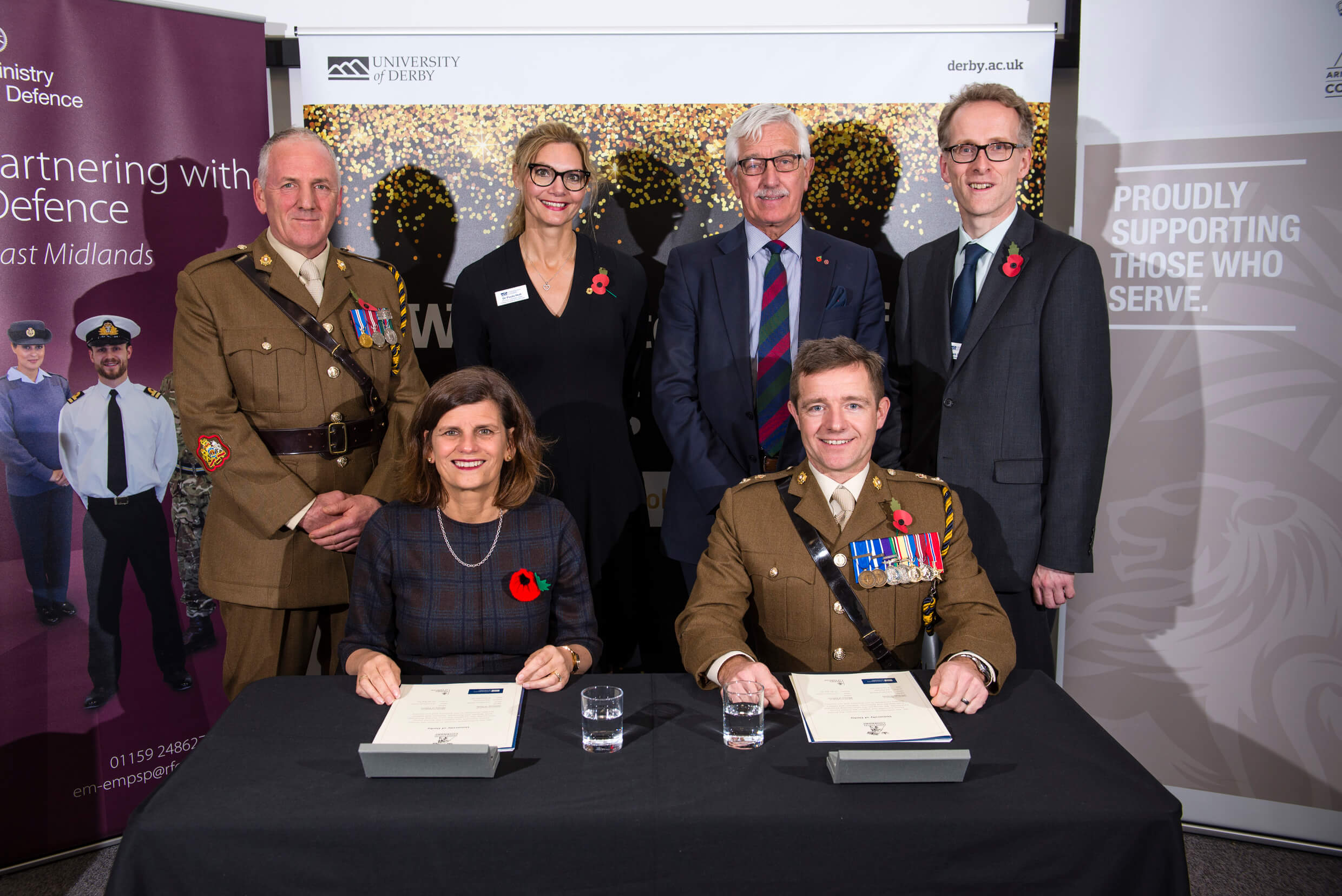 Signing of the Armed Forces Covenant at University of Derby