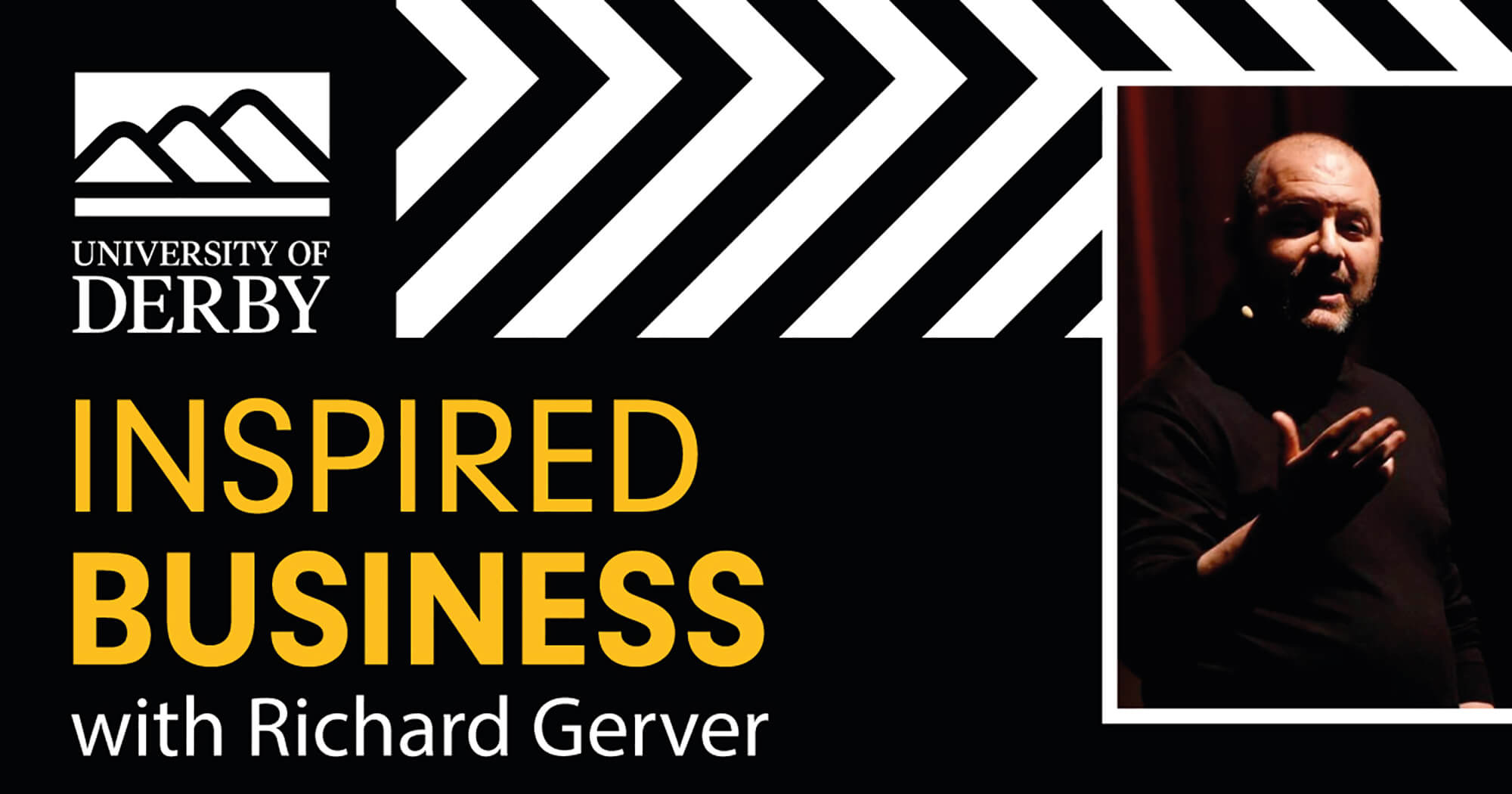 University of Derby Inspired Business podcast with Richard Gerver